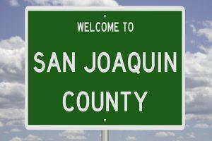 San Joaquin County sign